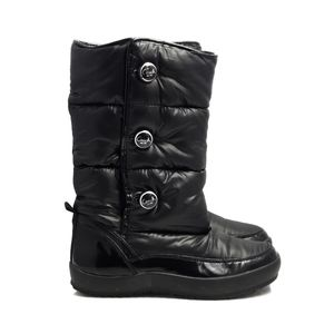 Coach Polina Black Winter Boots Women's Size 8